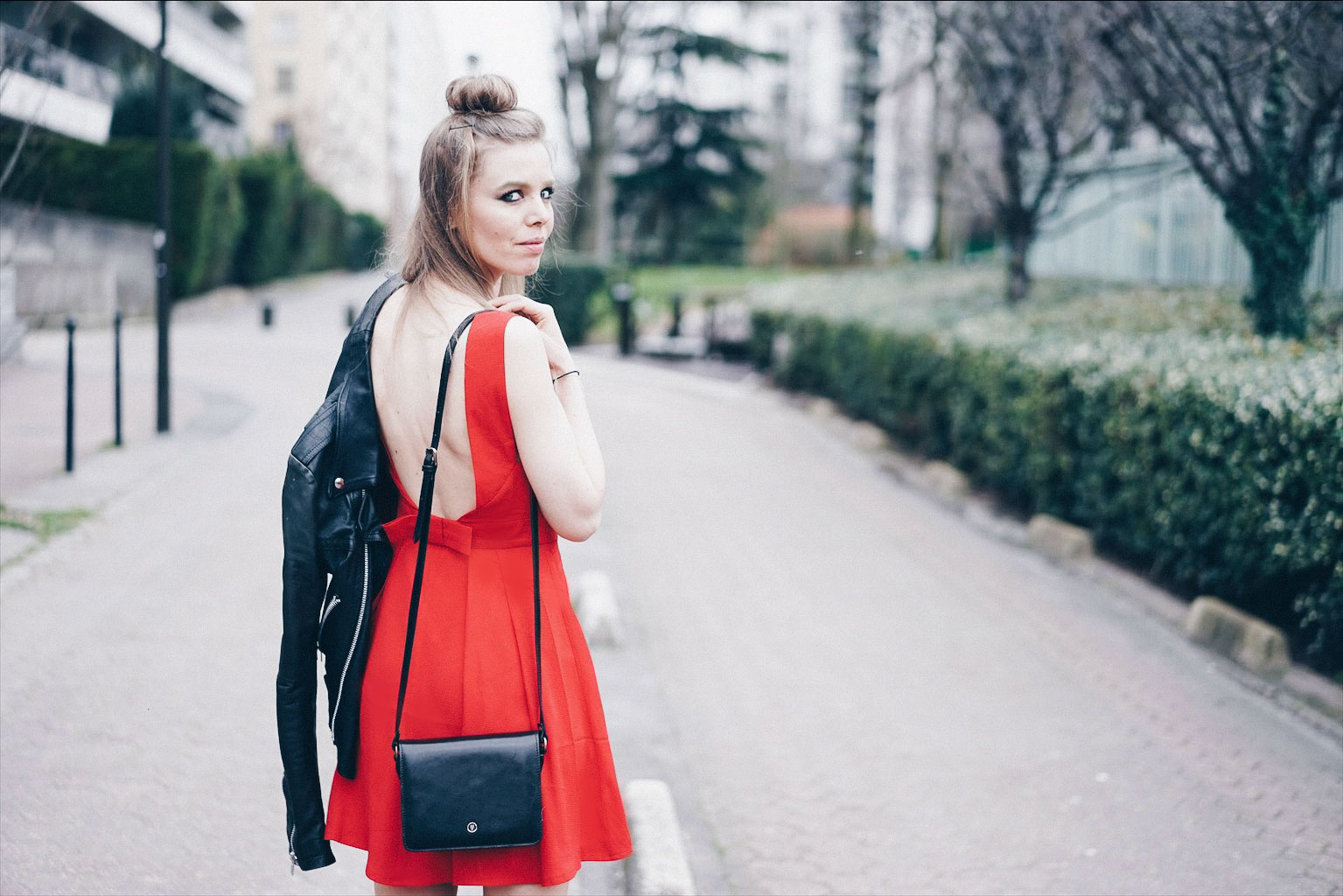 robe rouge sac Maxwell Scott
