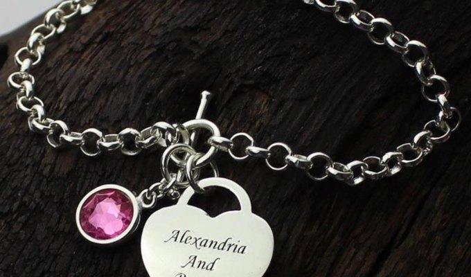 bracelet prenom à personnaliser