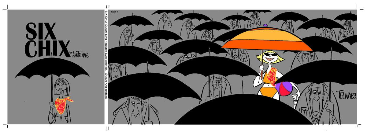 SixChix101704SUNumbrellas