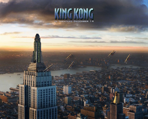 Wallpapers Empire State Building Avions King Kong - Annuaire Web France Fonds 'cran