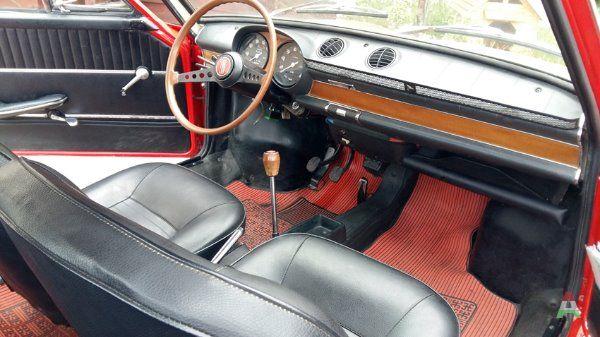 Fiat 850 coupe del 1965 rossa a Chieti in Veicoli  Annunci Subitoit