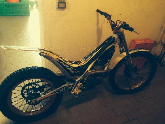 Trial shercho 300cc 2 tempi a Como in Veicoli  Annunci