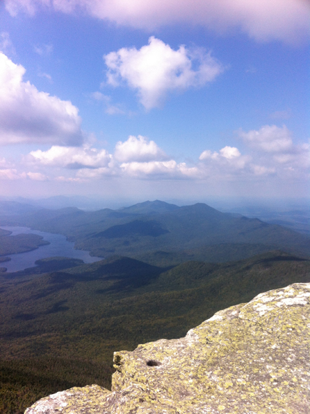 the view  from whiteface mt