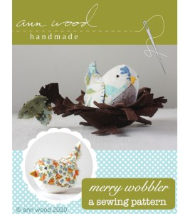 bird sewing pattern