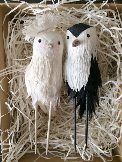 mr. and mrs. chickadee