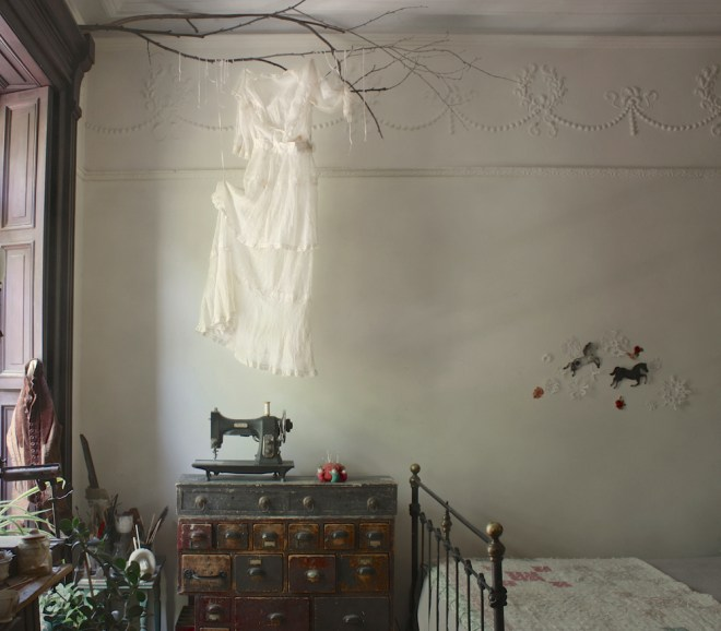 ghostly edwardian gown