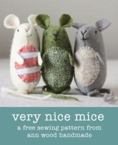 ann wood : very nice mice pattern