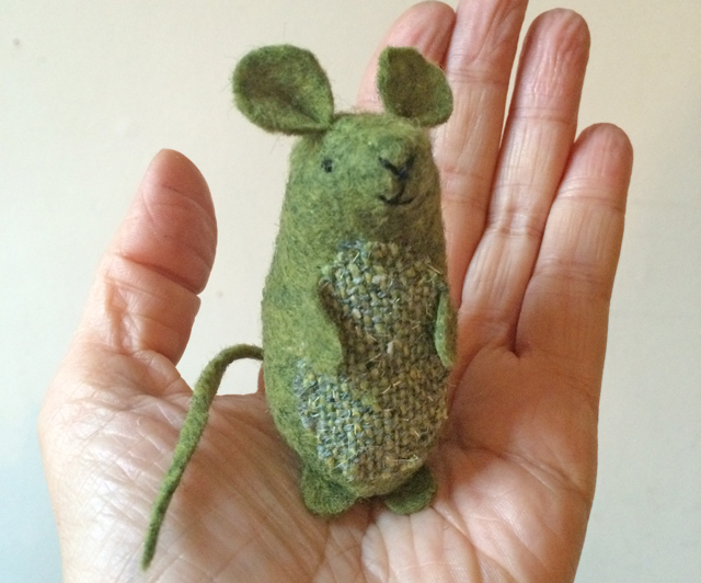 little green mouse