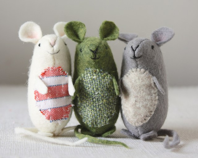 very nice mice : sewing pattern