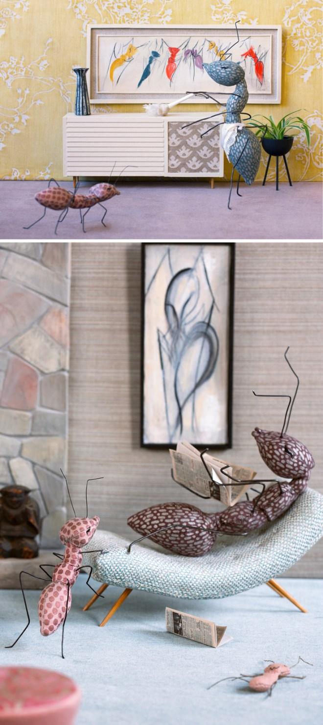 ann wood : fortuny ants