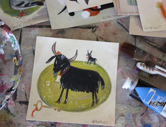 daily art : goat
