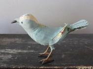 pale blue songbird