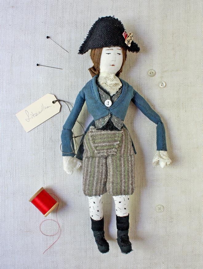 handmade soldier doll