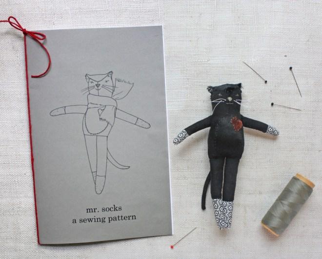 mr. socks sewing pattern : print edition