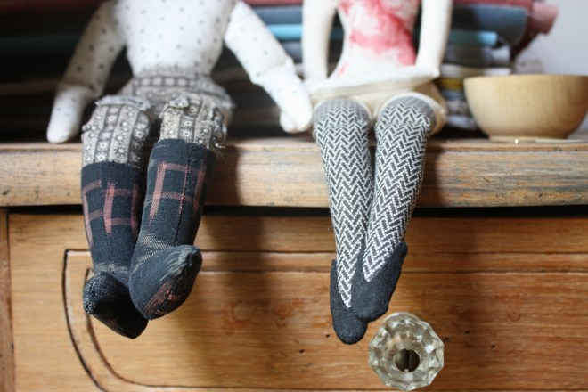 rag dolls : expressive feet