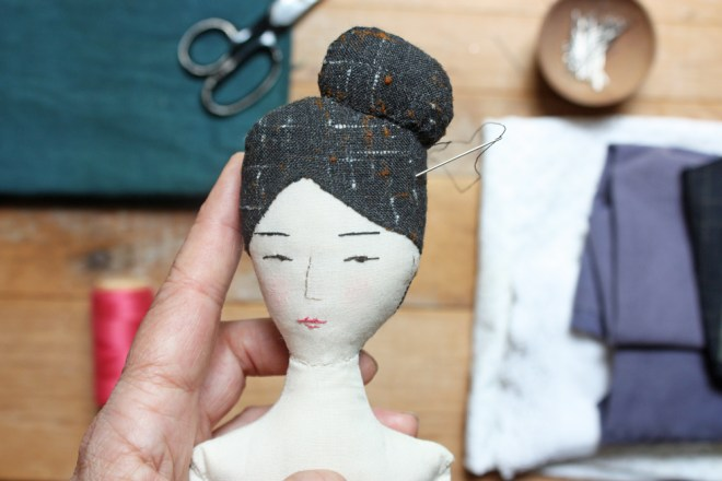 nora : hand stitched doll