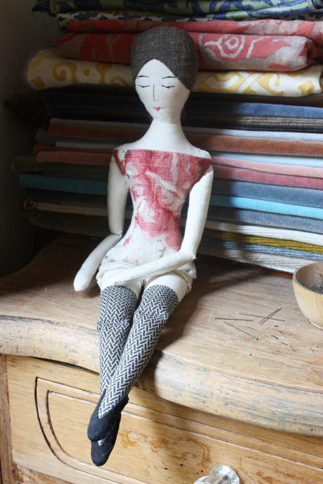 rag doll : fancy stockings