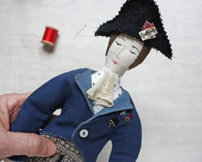 soldier doll : coat