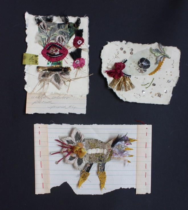 stitched collages