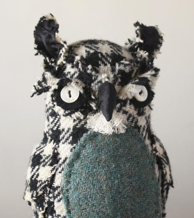 mr. skimploe : houndstooth owl