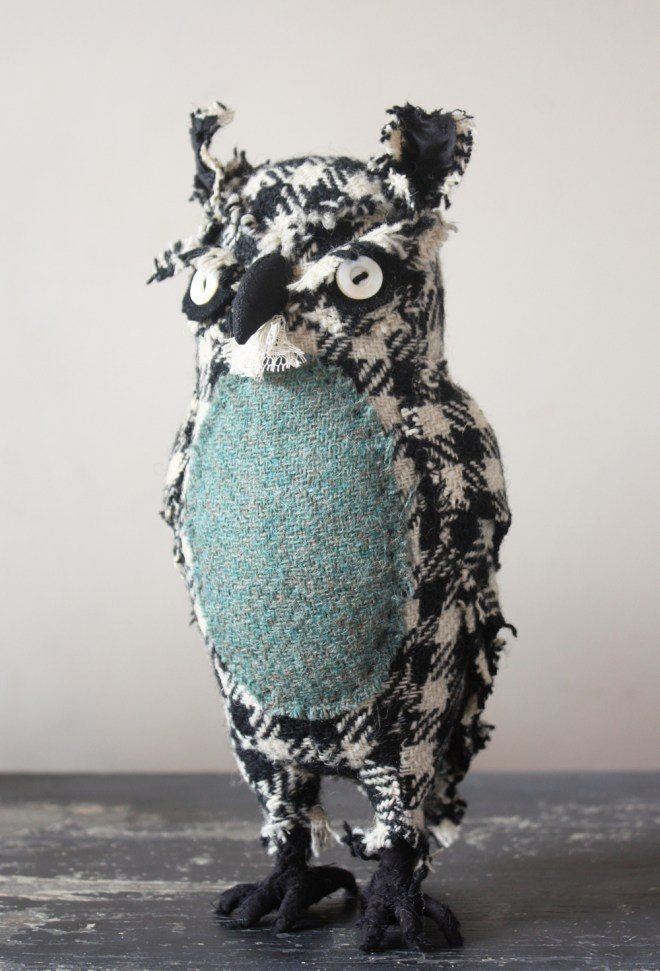 mr. skimploe : houndstooth owl