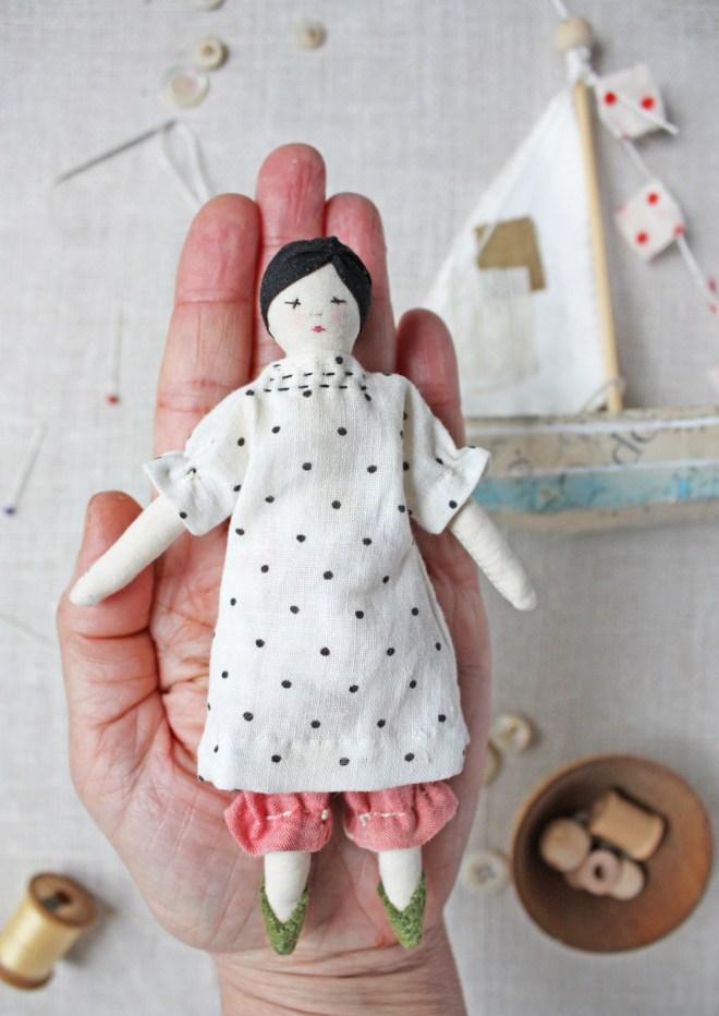 tiny rag doll