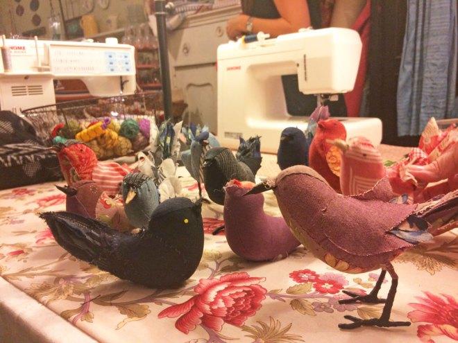 ann wood bird workshop