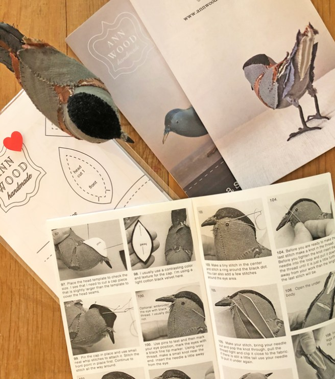 songbird sewing pattern booklets