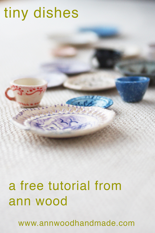 dollhouse dish tutorial