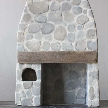 the miss thistle society : make a miniature stone hearth