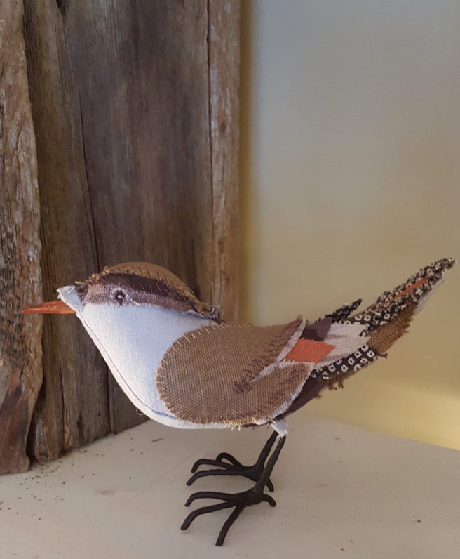 bird sewing pattern