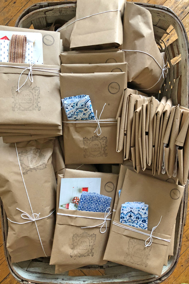 ann wood handmade packages
