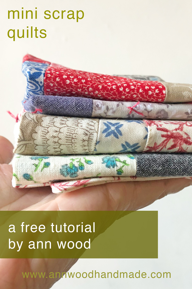 doll quilt from scraps free tutorial