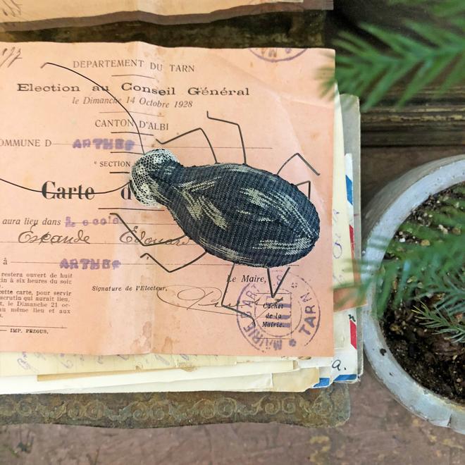 stitched beetle workshop