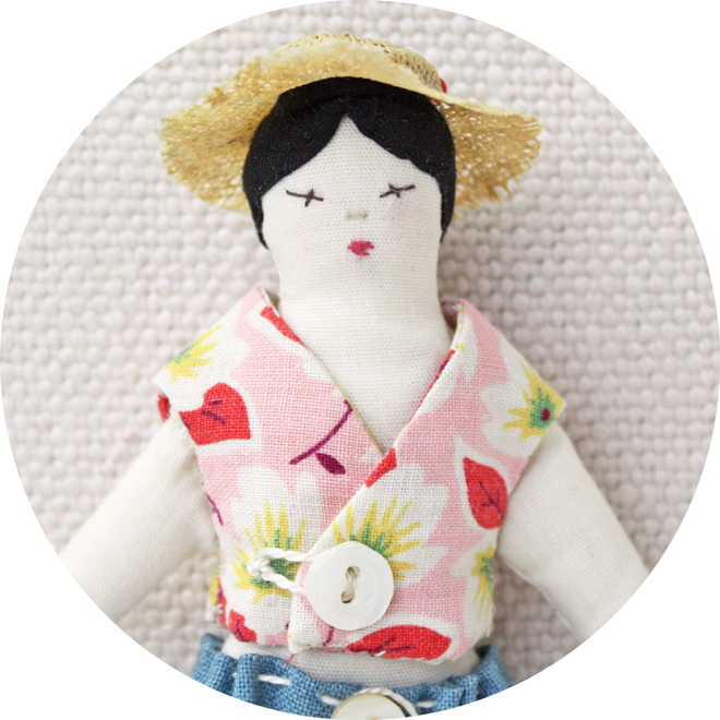 easy doll clothes sewing pattern