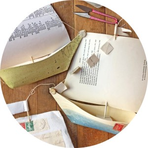make a paper sail boat
