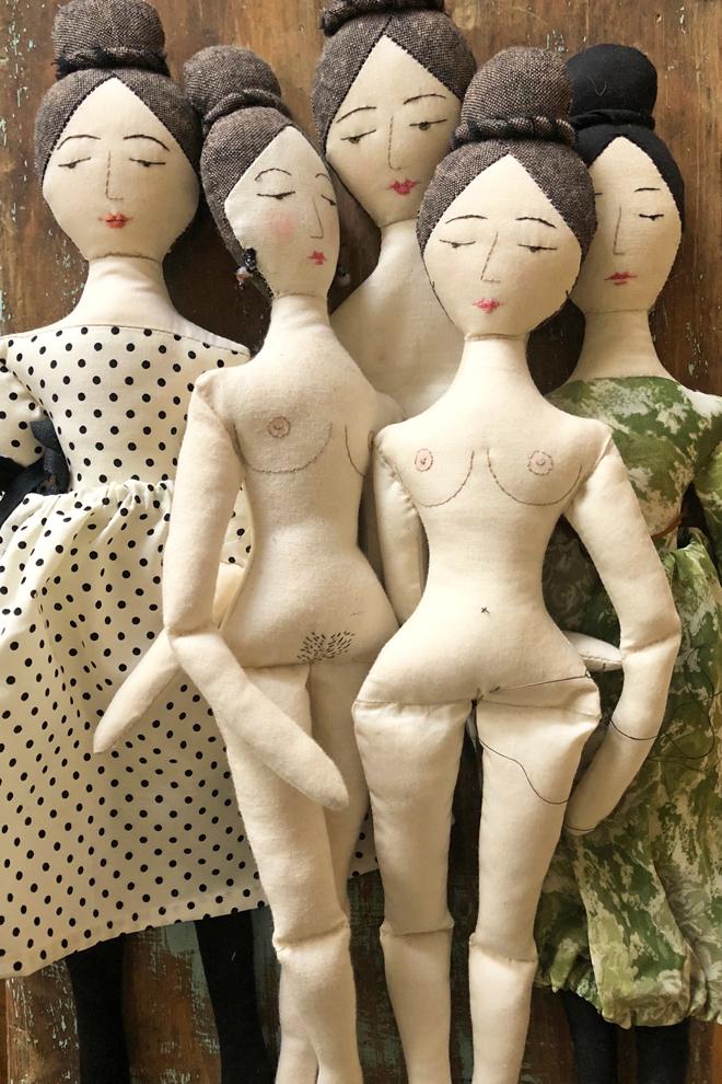 elegant rag dolls