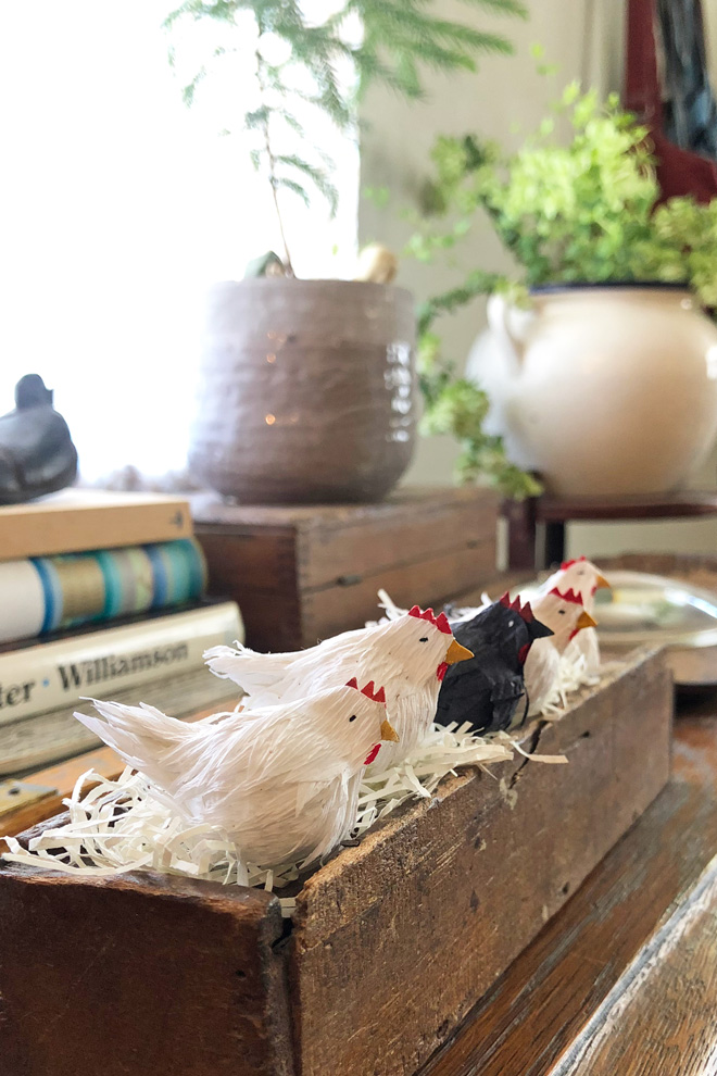 miniature hen tutorial