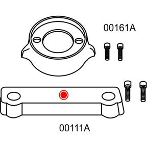 10274A Volvo Penta 280 Complete Anode Kit (2-24274A
