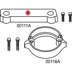 10275A Volvo Penta 280 Duo Prop Complete Anode Kit (2-24275A)