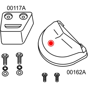 10278A Volvo Penta SX/DP-SM Complete Anode Kit (2-24278A