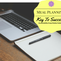 Meal planning! One of my keys to success!