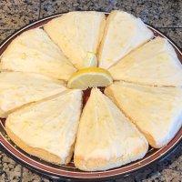 Lemon Scones! THM S! Thanks Coach Tisa :)
