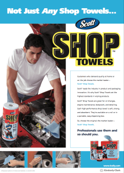 Scott Shop Towels Tuner Ad