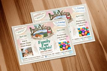 BellaVista Postcards
