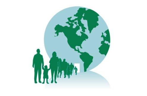 DCM Earth Balloon logo