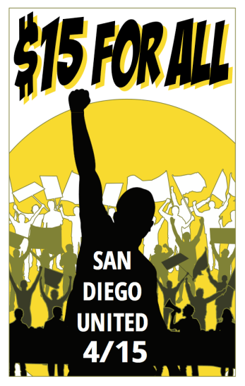 Fight For $15 San Diego