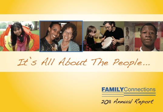 Family Connections Annual 2011 Cover