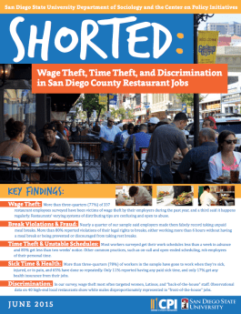 Shorted: Wage Theft Report 2015