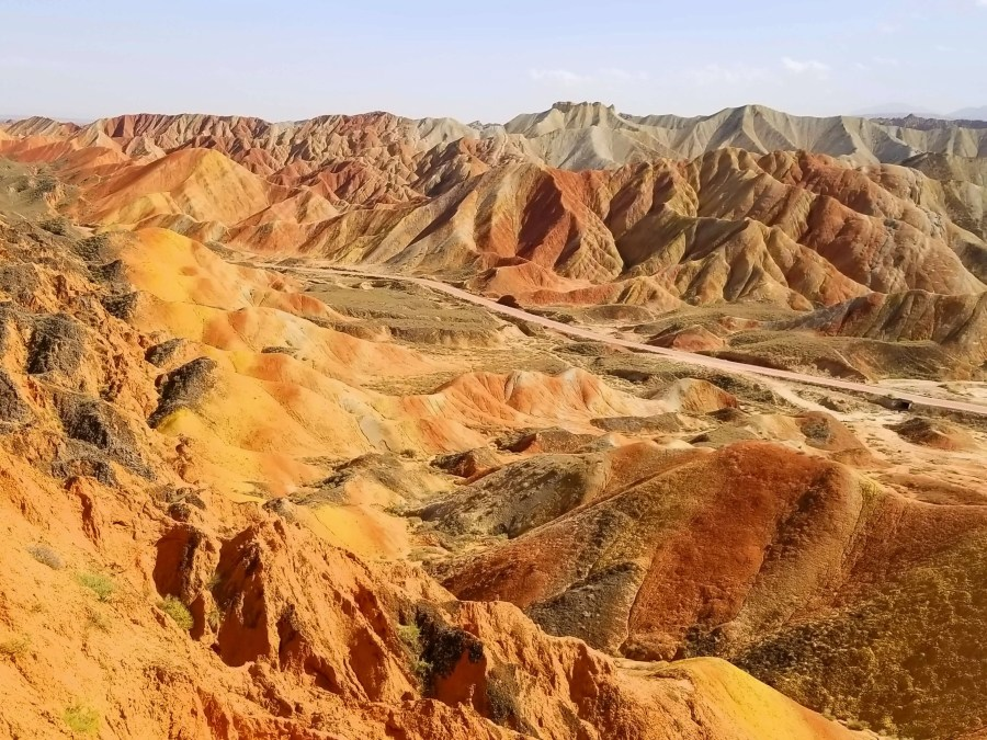 zhangye danxia rainbow mountain manual changes